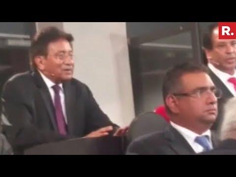 Former Pakistan's PM Pervez Musharraf Heckled In Norway