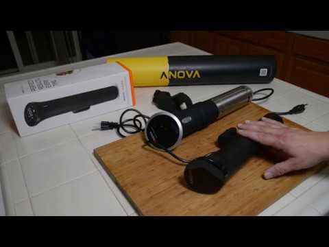 Anova Nano unboxing and first look.