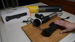 Anova Nano unboxing and first …