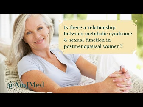 Metabolic Syndrome and Sexual Function in Postmenopausal Women