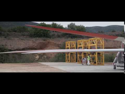 Wind powers rural development in Castellón, Spain (in Spanish)