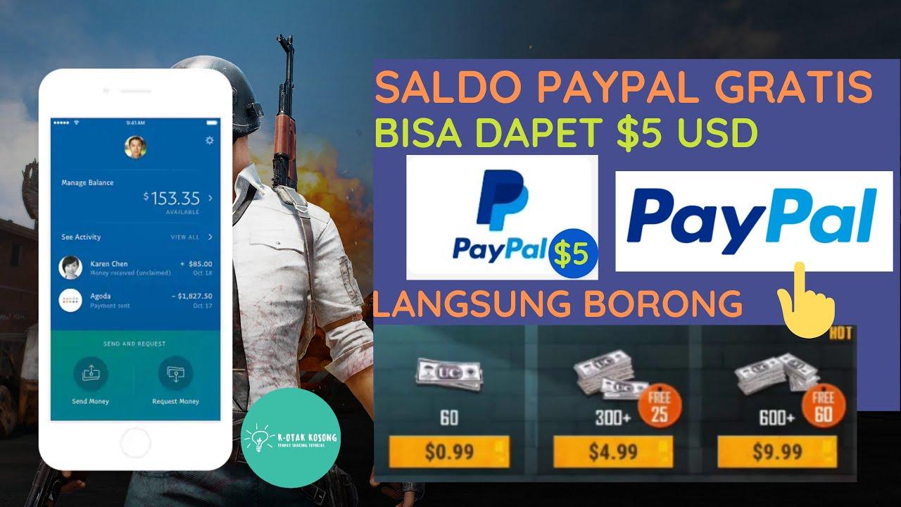 Cara Mendapatkan Saldo Paypal Gratis ! Penghasil Dollar ...
