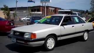 1990 AUDI 100 SEDAN SOLD!! THANK YOU FOR MAKING THE 9 HOUR DRIVE!