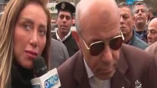 شاهد.. نائب محافظ القاهرة يحرج ريهام سعيد وينهي التصوير معها