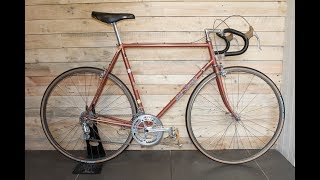 Eddy Merckx Professional Vintage Road Bike Restoration