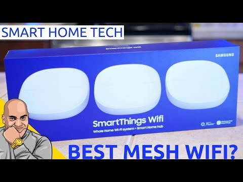 Samsung SmartThings Wifi: The Best Mesh WiFi for Your Smart