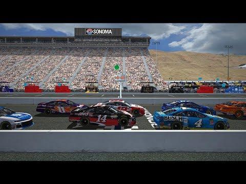 Toyota / Save Mart 350 | 2018 MENCS @ Sonoma Raceway | NR2003 LIVE STREAM EP412