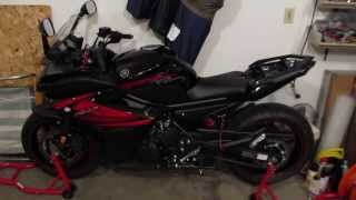My 2012 Yamaha FZ6R Mods