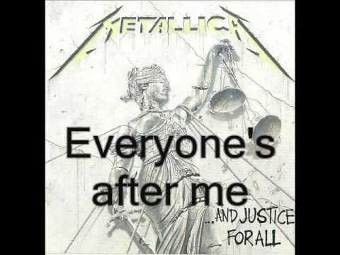 Metallica-The frayed ends of sanity (lyrics)