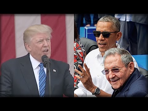 BREAKING: TRUMP JUST DECIMATED OBAMA'S CUBA LEGACY IN ONE UNFORESEEABLE MOVE