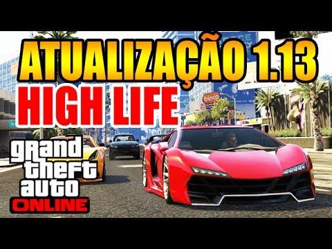 GTA V Online 1.13: Nova Atualização, Apartamentos, Carros, Dinheiro (High Life) [GTA ...