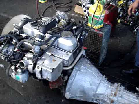 TD-27 Turbo engine for Roger