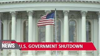 U.S. government shutdown to be detrimental to U.S. economy
