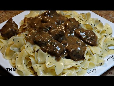 Smothered Beef And Noodles