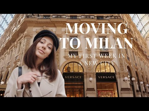 MOVING TO MILAN | MY FIRST WEEK IN A NEW CITY | Kaija Love