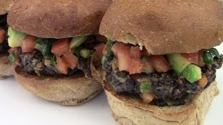 Black Bean Veggie Burger Recipe