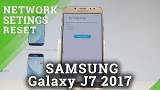 How to Reset Network Settings on SAMSUNG Galaxy J7 2017 - Reset Wi-Fi List |HardReset.Info