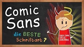 COMIC SANS – beste Schriftart?
