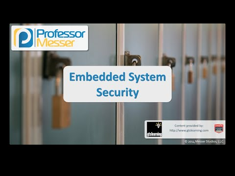 Embedded System Security - CompTIA Security+ SY0-401: 4.5