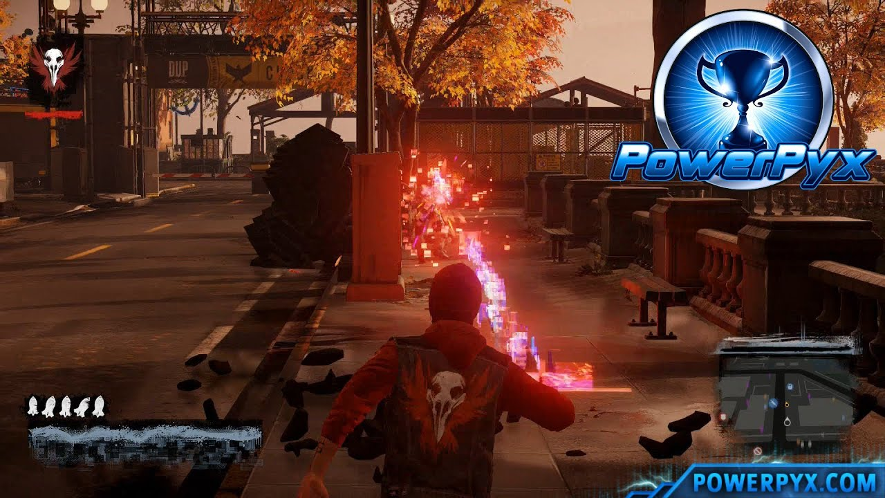 inFAMOUS Second Son - Hat Trick Trophy Guide on grand theft auto v map, dayz map, dark souls map, grand theft auto 2 map, infamous shards, dishonored map, dead rising 3 map, infamous bosses, kingdom hearts map, the crew map, the witcher map, infamous 2 map, minecraft world of tanks map, the elder scrolls online map, infamous characters,