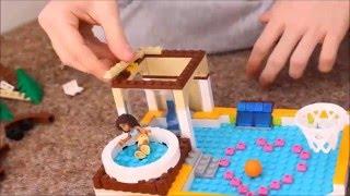 Бассейн из лего/ мультик / Lego Friends