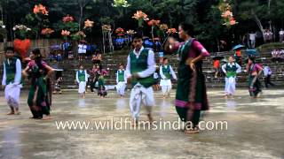 Tribal dance from the North East India