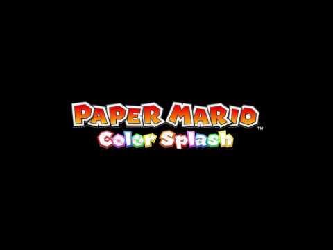 Cobalt Base - Paper Mario Color Splash OST - YouTube