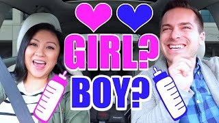 GIRL OR BOY? WE KNOW THE BABY'S SEX!