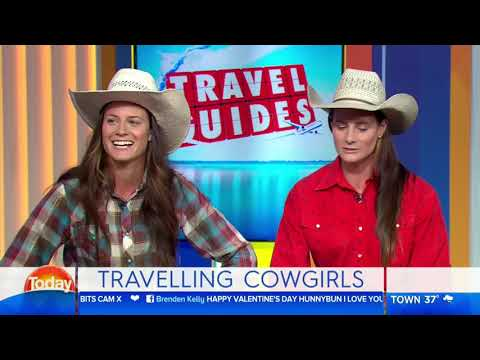 Travel Guides cowgirls admit they thought Tokyo was in China