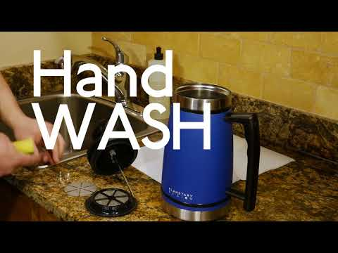 NEW!  Brü-Stop Cleaning Video - How To Clean Your Brü-Stop French Press