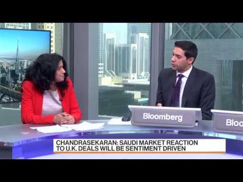 Aarthi Chandrasekaran of SHUAA Capital discussing developments in KSA