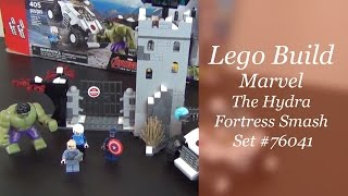 Let's Build - Lego The Hydra Fortress Smash Set #76041