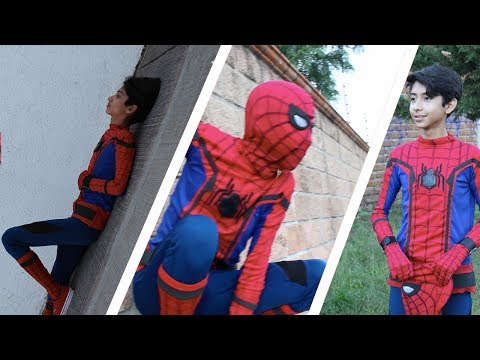 IMITANDO FOTOS DE SPIDERMAN HOMECOMING/ IMITATING PHOTOS OF SPIDERMAN HOMECOMING