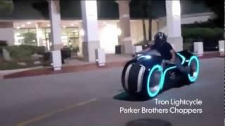 Трон - мотоцикл фильм Трон  10 000 dollars