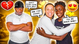 SAYING GOODBYE TO MY 12 YEAR OLD BROTHER DARION **HE FINALLY WENT HOME**