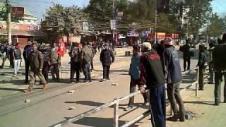 デモの日 ネパール