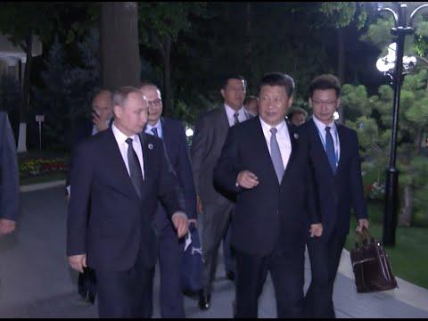 China, Russia Pledge to Enhance Cooperation Within SCO Framework