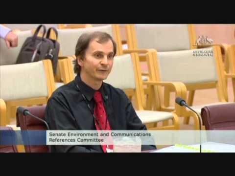 David Gould, Senate environment committee 11 April 2013 part 2