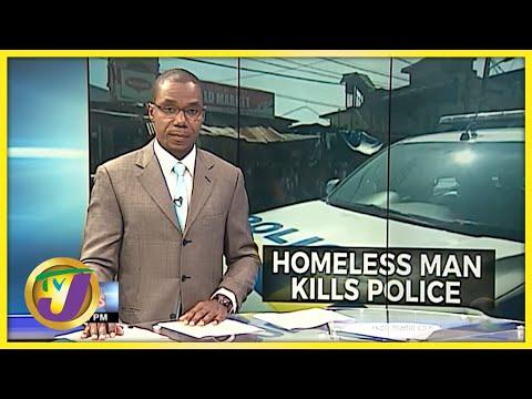 Man of Unsound Mind Kills Cop   TVJ News - Sept 24 2021