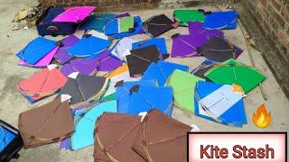 Biggest Kite Stash 2021 !! Kite Stash for Uttarayan 2021 !!