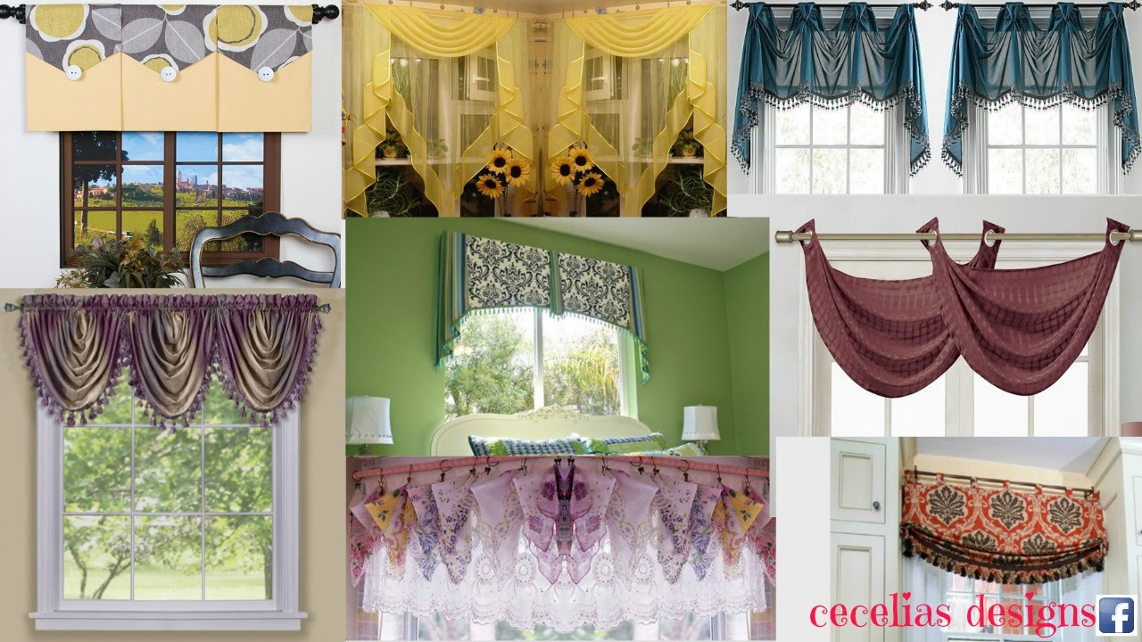 curtain designs for homes interiors valance