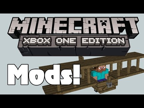 Mods For Minecraft XBOX ONE Edition? BIG NEWS!