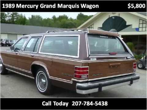 1989 mercury grand marquis wagon insurance estimate greatflorida 5 liter 8 cylinder ffs rear wheel drive automatic 4 spd mpg 19 31 2000 per year of regular fuel class midsize large station wagons freerunsca Gallery