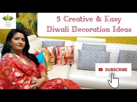 5 Creative & Easy Diwali Decoration Ideas