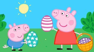 Peppa Pig EASTER EGGS 🐤🥚🐰 Learn with Peppa Pig thumbnail