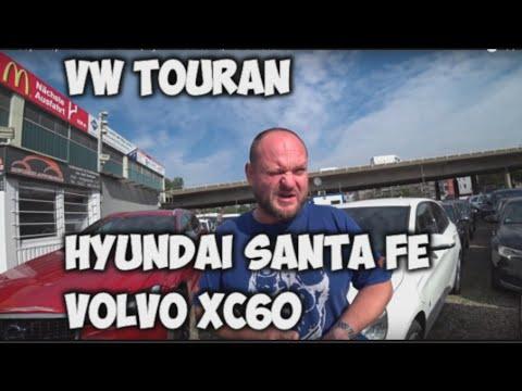 Выбор в Германии VW Touran, Hyundai Santa Fe, Volvo XC60