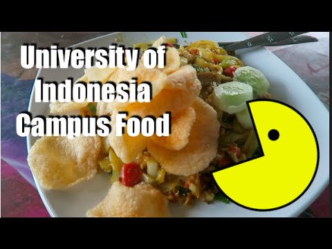 University of Indonesia | Campus Food!