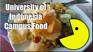University of Indonesia | Campus Food!