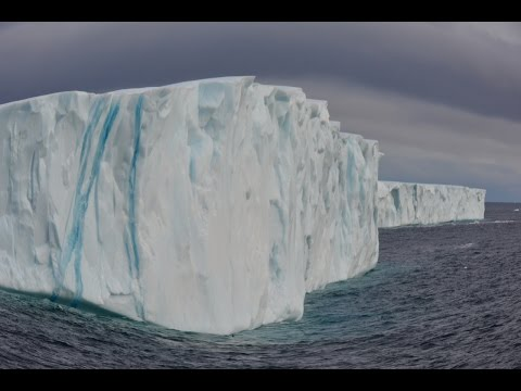 Petermann Ice Island off Baffin Island September 2014