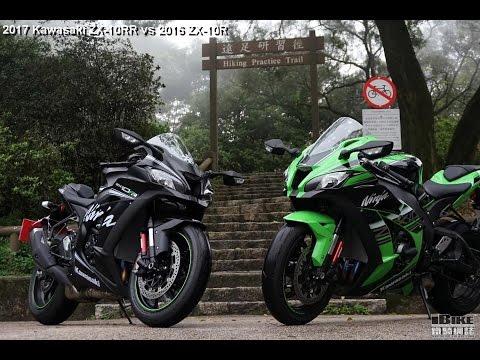 2017 Kawasaki Zx 10rr Vs Zx 10r Youtube